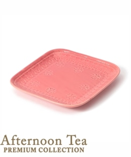 角皿/SAKUZAN×Afternoon Tea