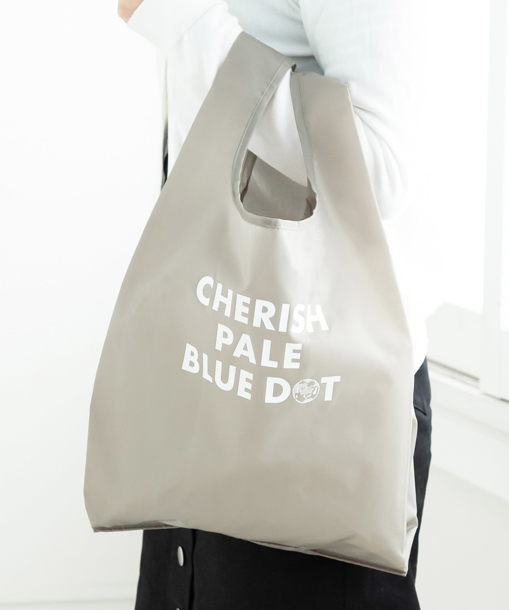 CHERISH PALE BLUE DOT/エコバッグM