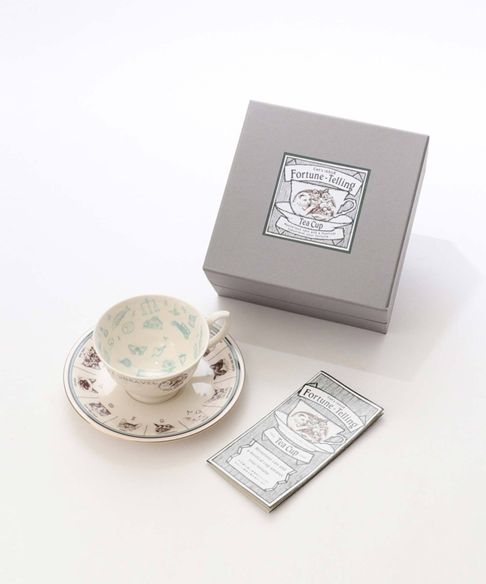 【オンラインストア限定】Cat's ISSUE/Cat's Fortune-Telling Tea Cup