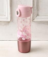 桜カップ付きクリアボトル