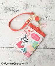 Moomin×Afternoon Tea/コードリール付きパスケース