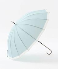 バイカラー晴雨兼用長傘 雨傘