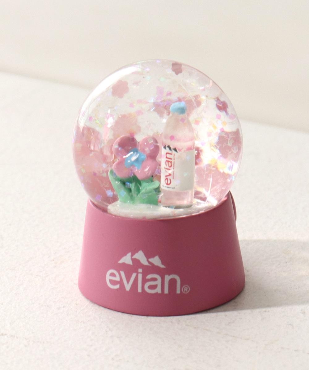 エビアン(R)/ミニスノードーム型マグネット