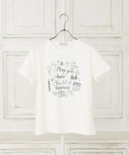 トラベル柄Tシャツ