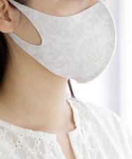 フラワー柄洗える抗菌マスク3枚セット