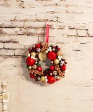 クリスマスリースM