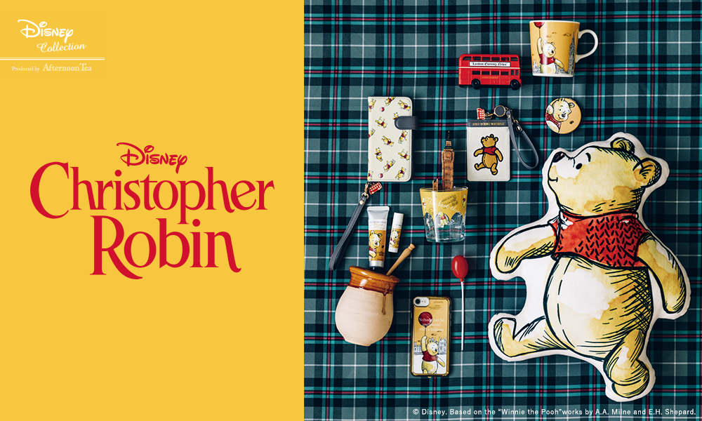 DISNEY Collection Produced by AfternoonTea DISNEY Christopher Robin