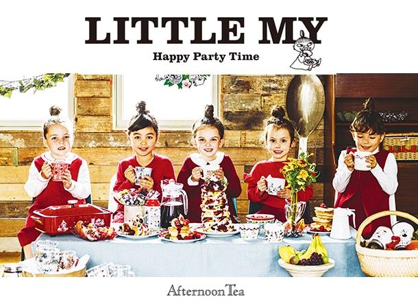 Moomin×Afternoon Teaのコラボアイテムが、リトルミイ好きを悶絶させる。